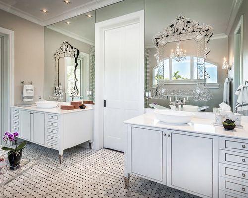 Venetian Mirrors Bathroom Vanity Home In 2018 Pinterest