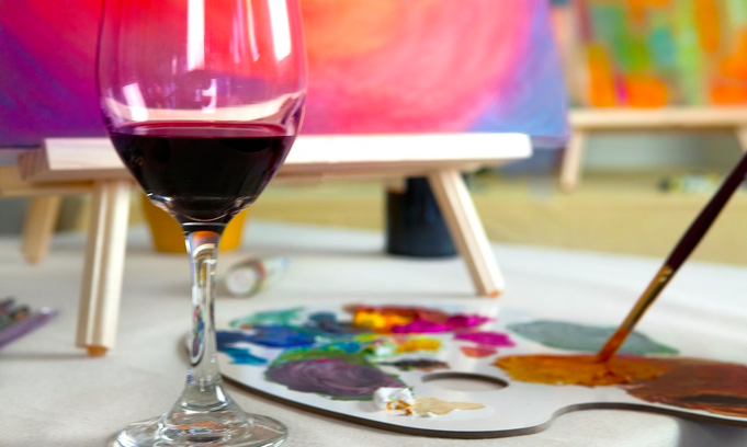 Popup Painting Paint And Drink Byob Painting Paint And Sip