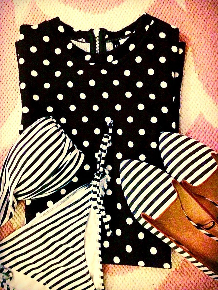 stripes, spots + polka dots www.oceanstatestyled.com