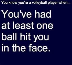Word of advice: Unless you want to get hit twice directly in the face make sure your team mates are not reaching for the ball