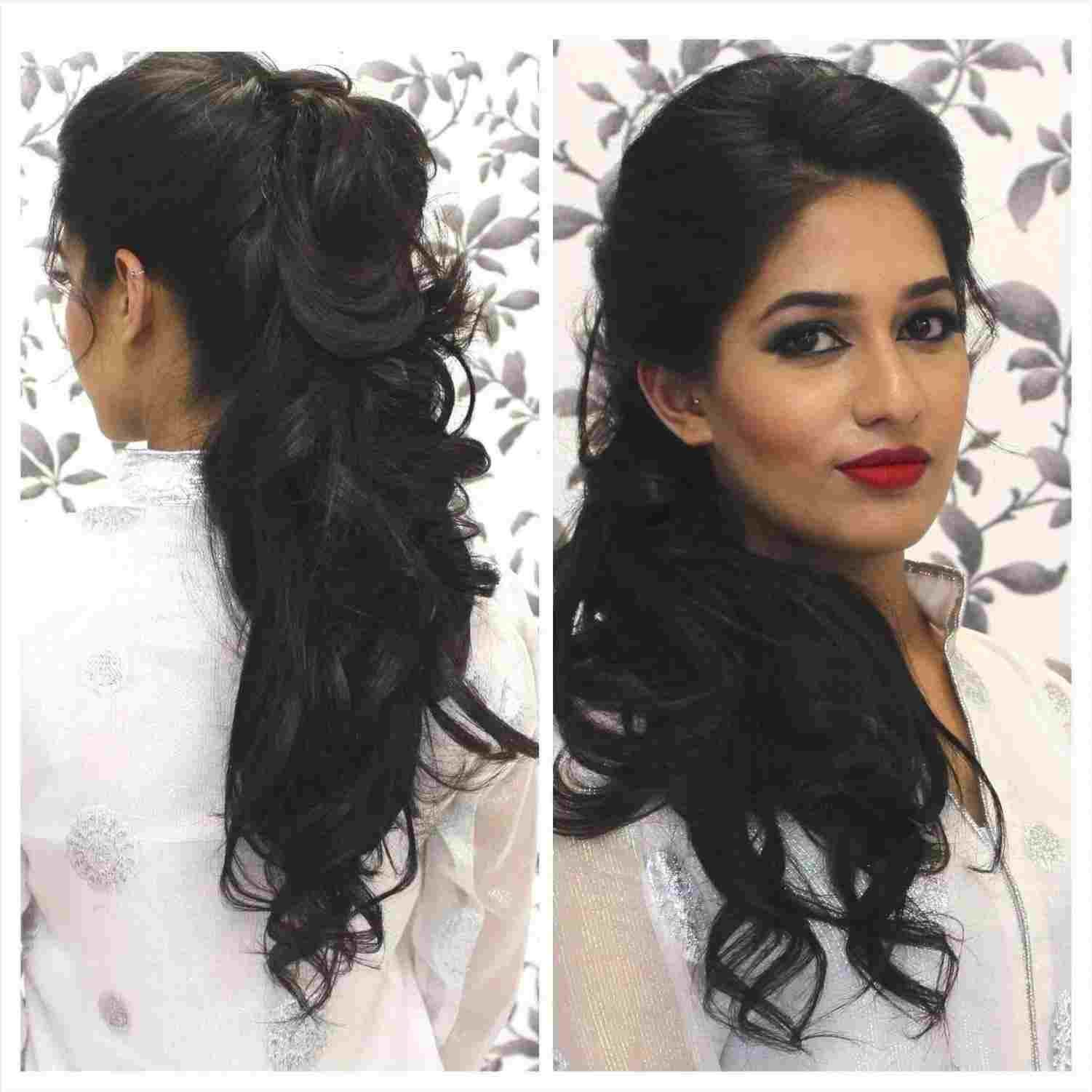 22 Hairstyles For Curly Haired Indian Women Hairstyle Monkey Curly Hair Styles Hair Styles Hairstyle