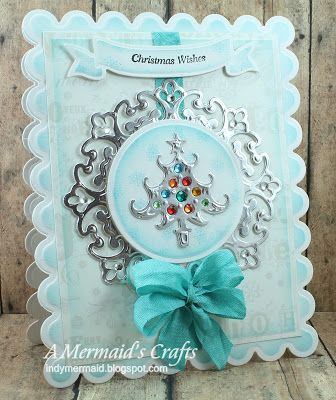 Spellbinders Grand Scalloped Rectangle, Grand Rectangle and Ribbon Banner die