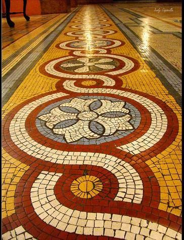 Piso Mosaico.