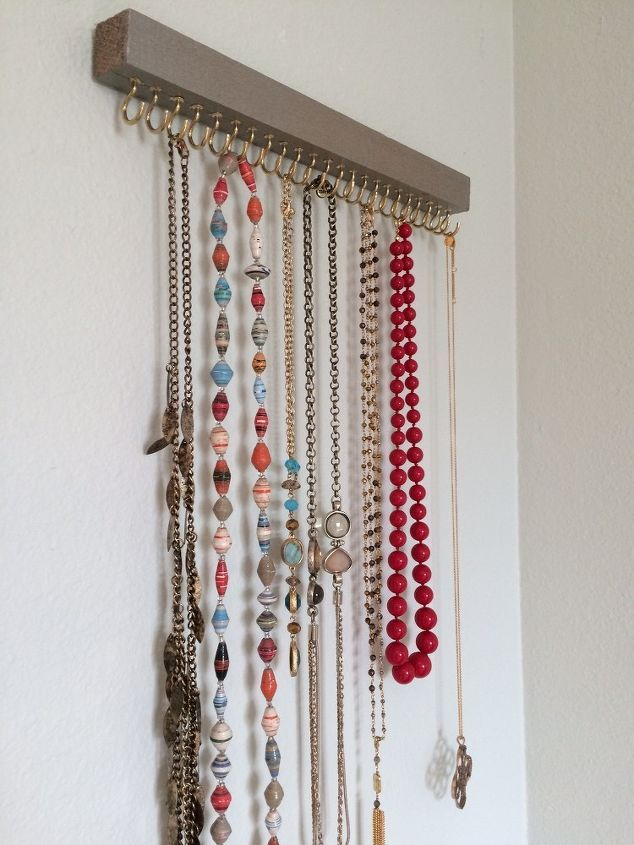 diy jewelry holder crafts how to organizing