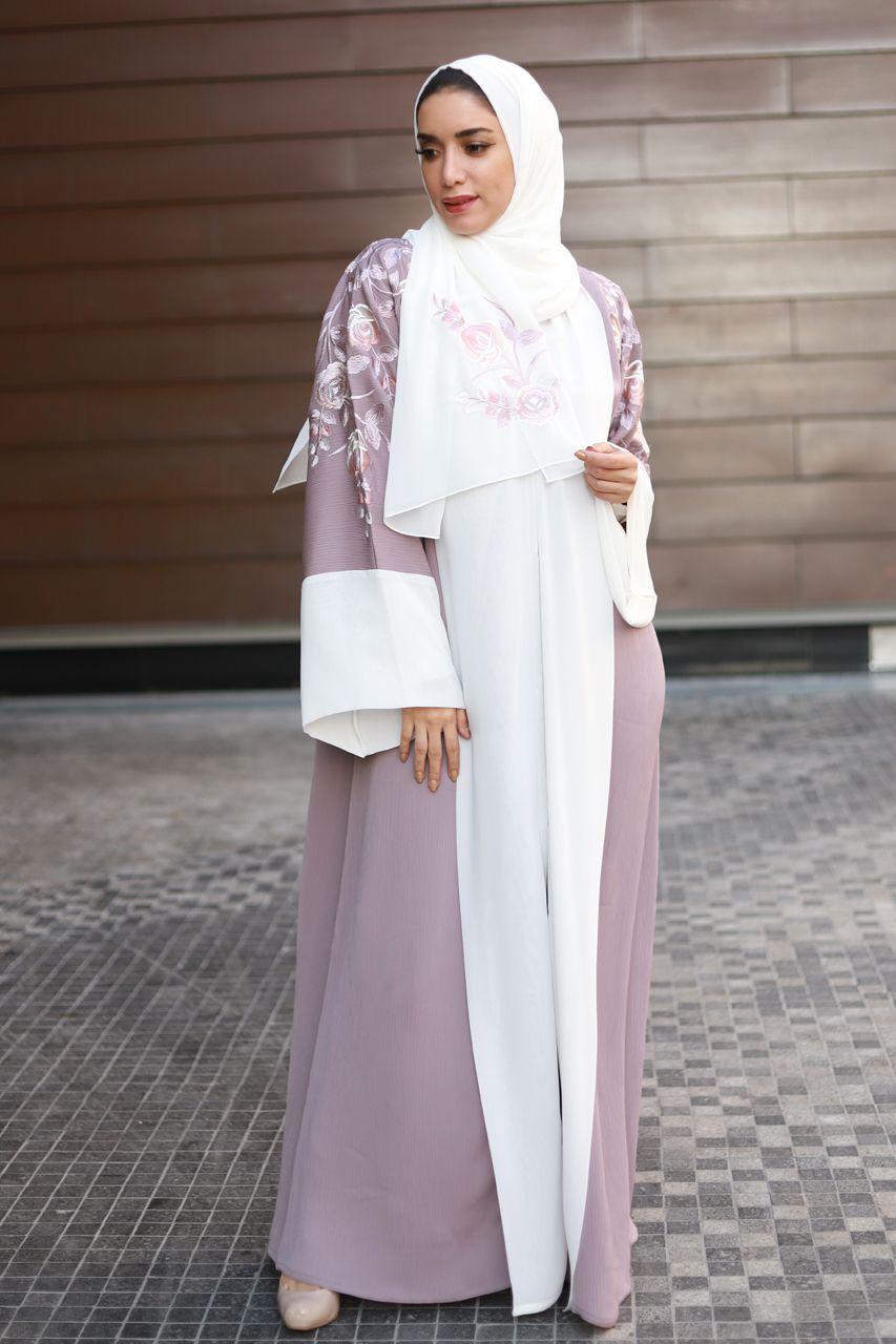 a2f92b4fd7 Embroidered Abaya Comes with beautiful hijab (sheyla). . . #hera  #heracloset #abaya #abayadubai #fashion #kaftan #embroidery #uae #ksa  #jordan #uk #oman ...