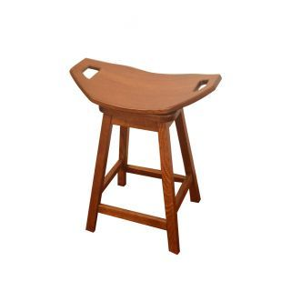Table & Chairs :: mission barstool with swivel - Frontier Furniture | Amish Furniture Store