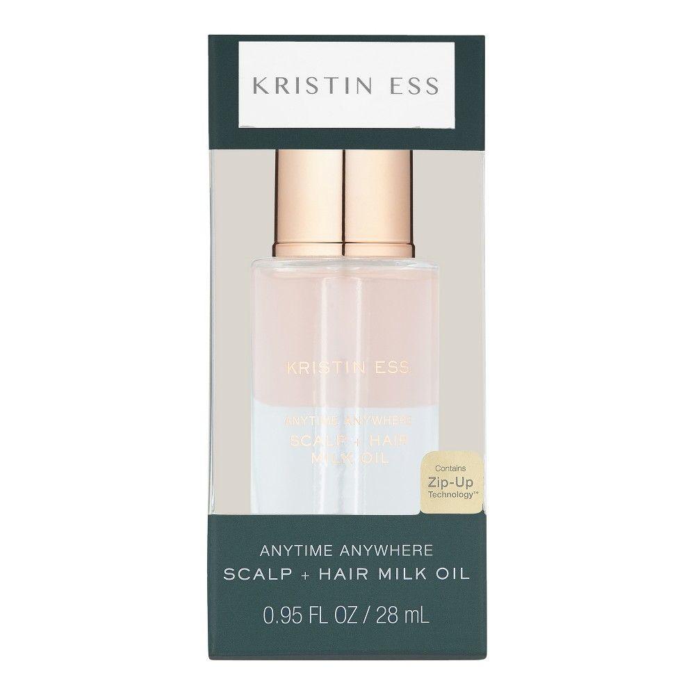 Kristin Ess Anytime Anywhere Scalp Hair Milk Oil 0 95 Fl Oz Hair Milk Milk Oil Kristin Ess