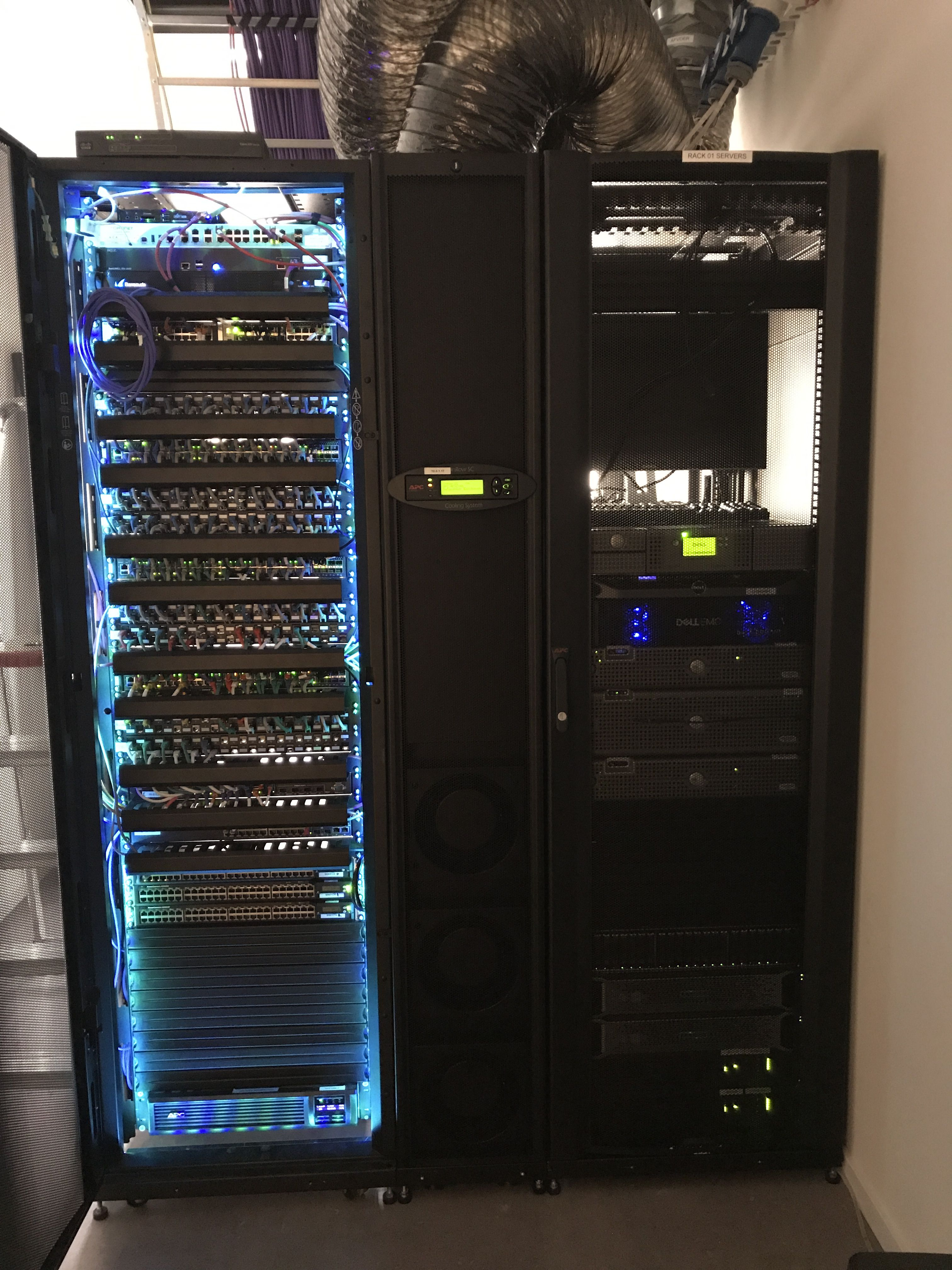 Almost Finished With My New Serverroom Ordered Some Led Lights