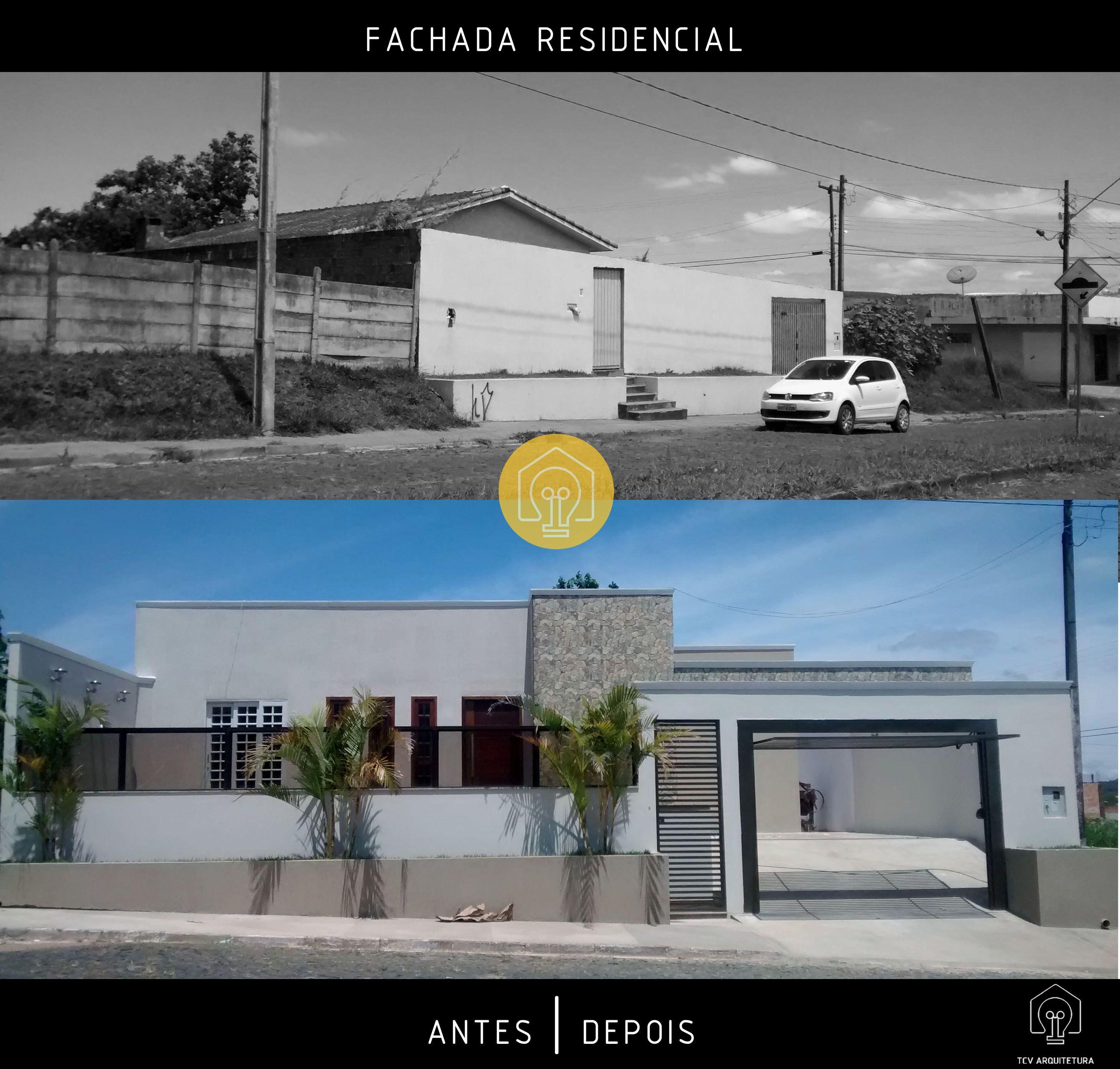 Fachada Residencial | Antes e Depois