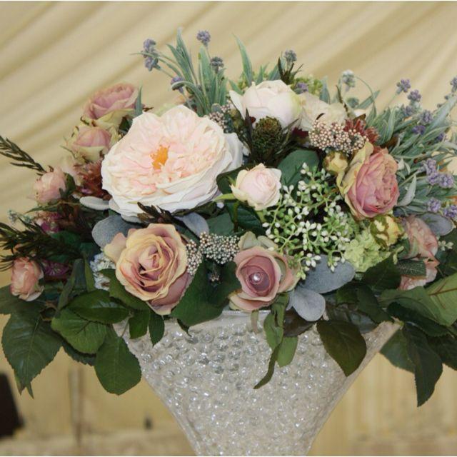 Flourish silk flower centrepieces to hire devon and cornwall vintage flourish silk flower centrepieces to hire devon and cornwall vintage style mightylinksfo