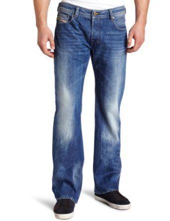 3815f19e285 Diesel Men s Zatiny 888B Regular Slim Micro-Bootcut Jean