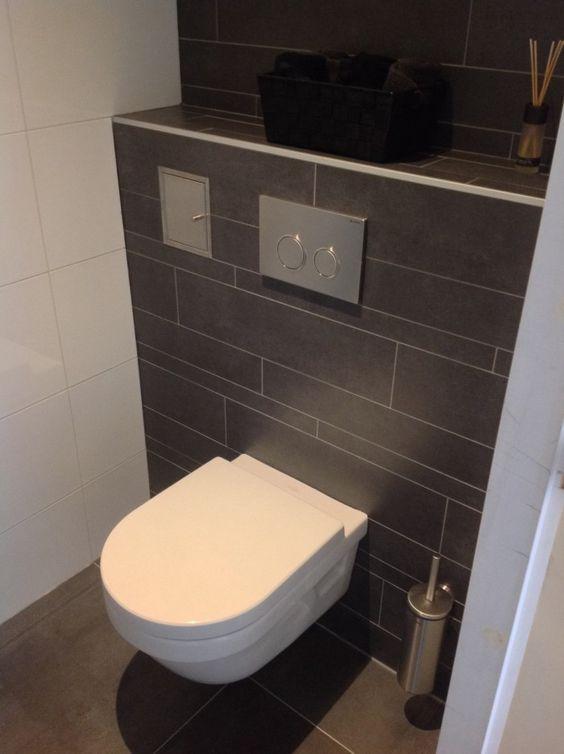 Mooi toilet antraciet wc ontwerp pinterest - Deco toilet ontwerp ...