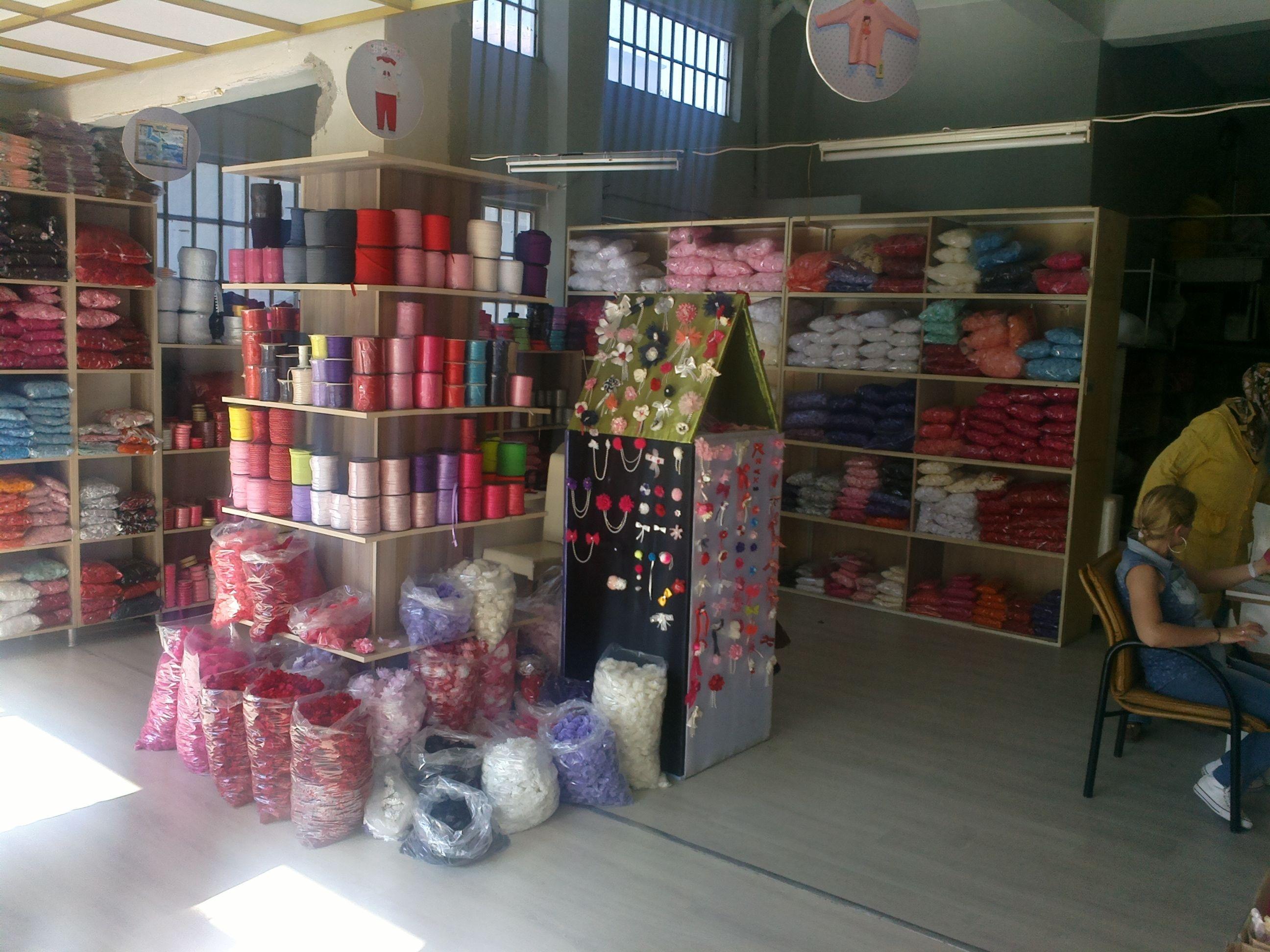 Photo of bursa sour cherry street – sour cherry textile and trade cen…