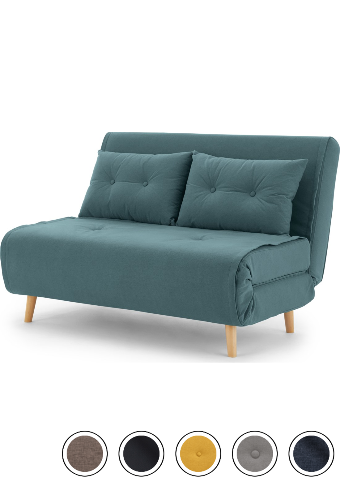 Haru Small Sofa Bed Sherbet Blue V 2020 G Dizajn Kuhni Mebel Divan