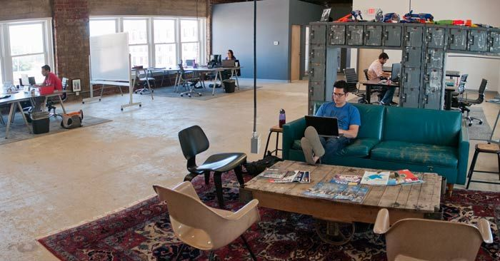 tech office alternative. Adventurous Members Of Ohio\u0027s Tech Industry Turn Alternative Spaces Into The State\u0027s Hippest Offices. Office O