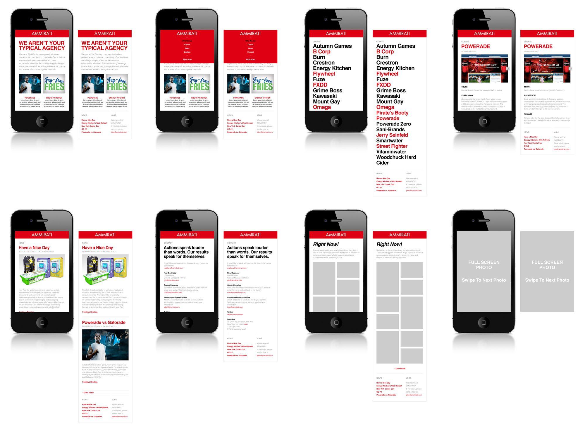 Responsive Mobile Web Design New York Just Creative Mobile Web Design News Web Design Creative Graphic Design