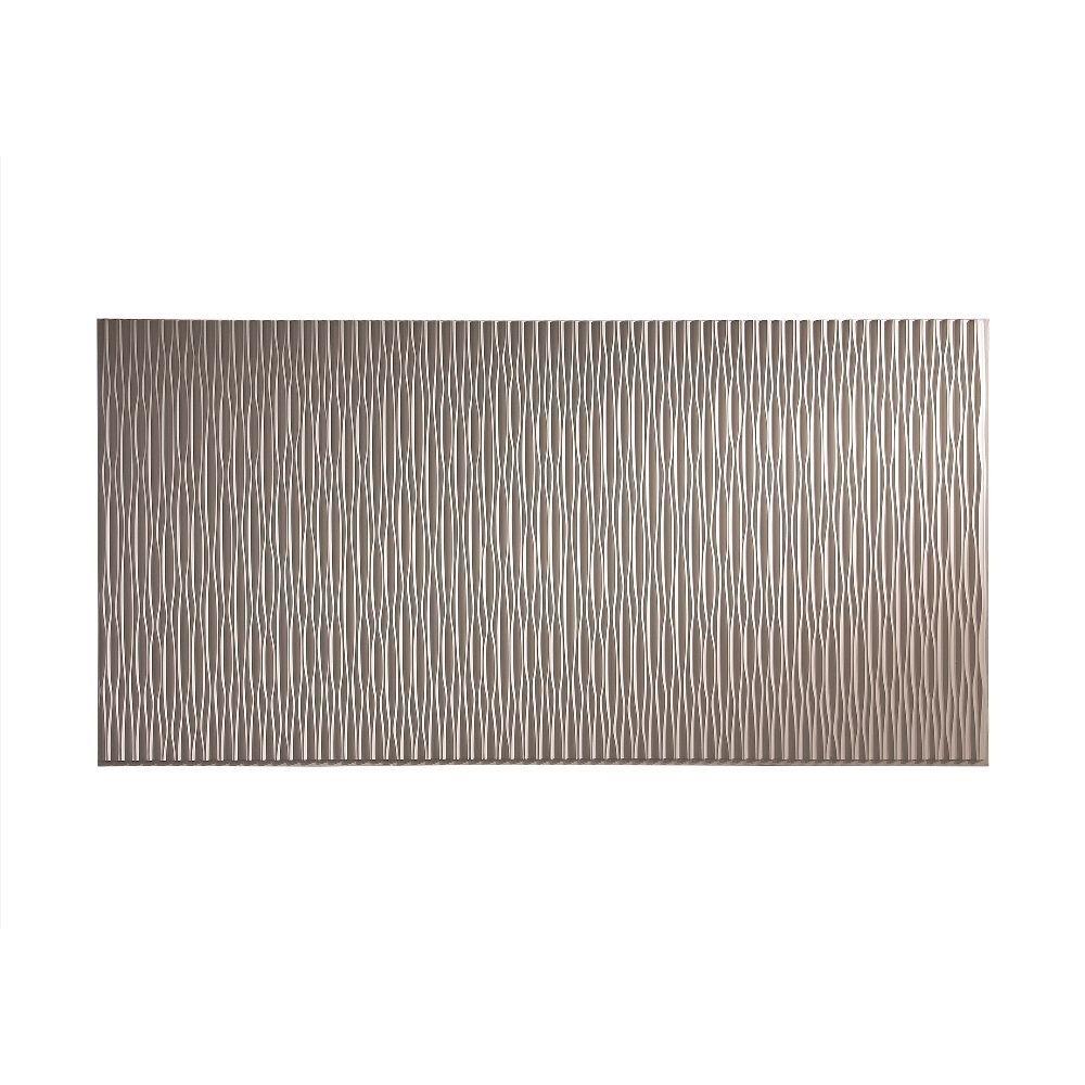 Fasade dunes vertical almond foot x foot wall panel u x