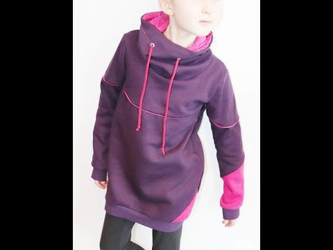 TUTO couture : montage d'un sweat ou hoodie - YouTube