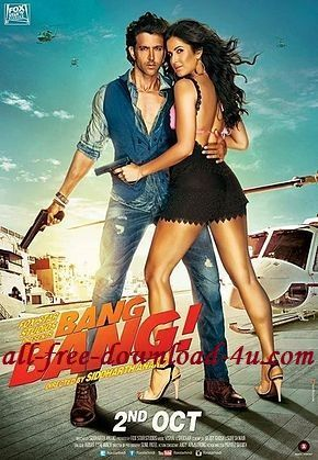 Movie · Poster Of Hindi Movie Bang Bang (2014) Free Download Full New ...