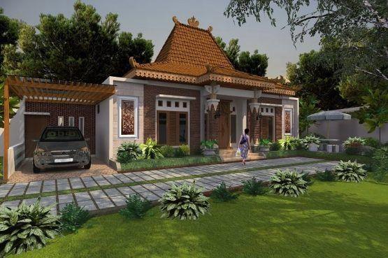Model Rumah Joglo Modern architec di 2020 Rumah