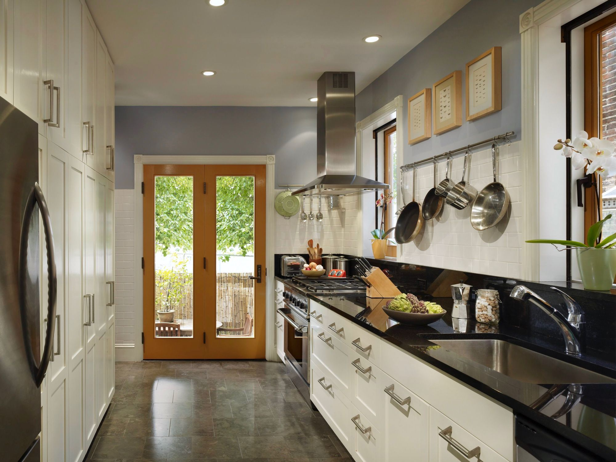 fairmount rowhome image by rasmussen su architects galley kitchen design small galley on kitchen remodel galley style id=33930