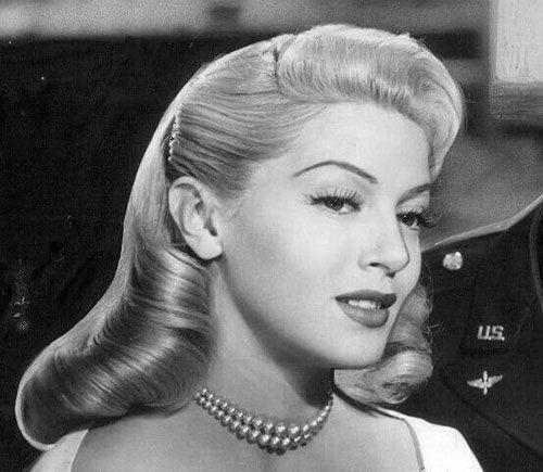 Glorious Vintage Retro Updos Hairstyle Ideas