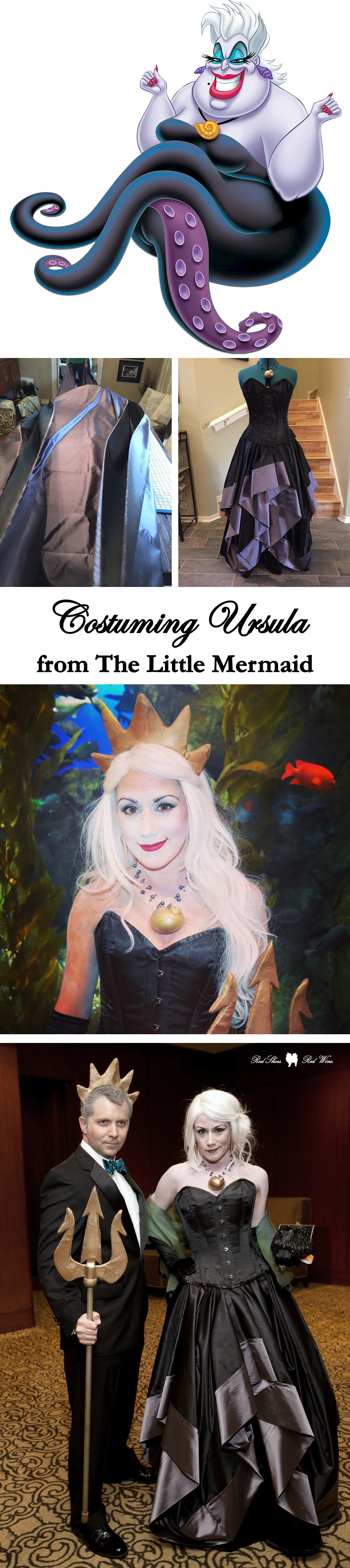 Costuming ursula from disneys the little mermaid cosplay costuming ursula from disneys the little mermaid cosplay costume halloween diy solutioingenieria Images
