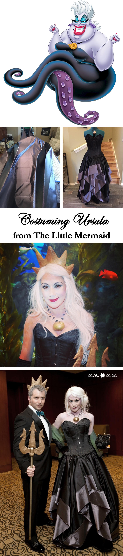 Costuming ursula from disneys the little mermaid cosplay costume costuming ursula from disneys the little mermaid cosplay costume halloween diy solutioingenieria Choice Image