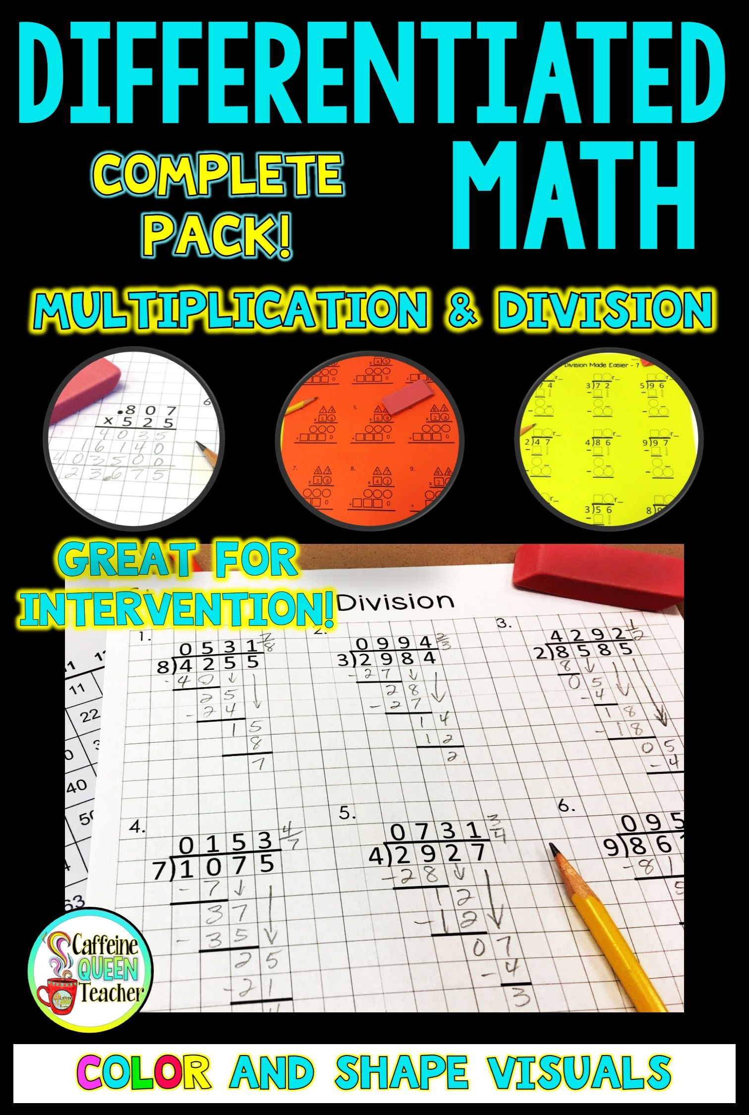 Multiplication And Division Ultimate Bundle Of