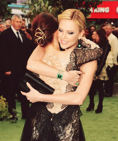 Kristen and Charlize <3