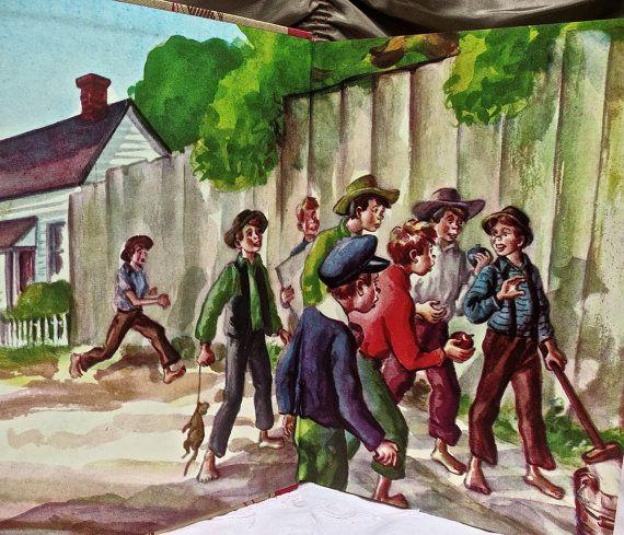 Mark Twain The Adventures of Tom Sawyer  1946 Mark by mybonvivant