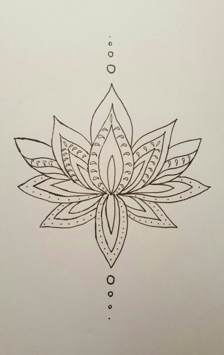 Flor De Lotus Drawing Painting Pinterest Tattoos Drawings And