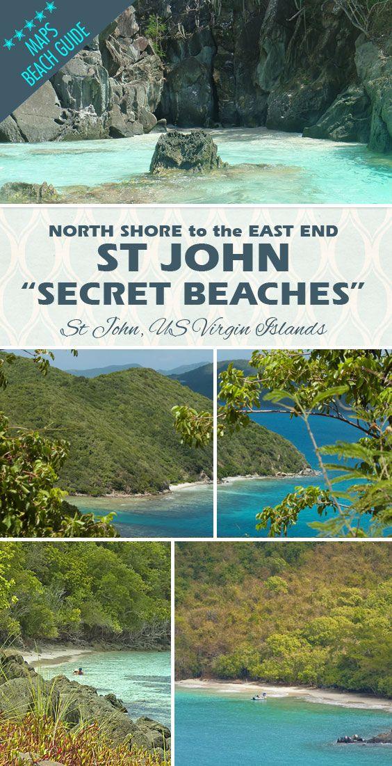 Virgin IslandsSt Johnu0027s little secluded beaches that
