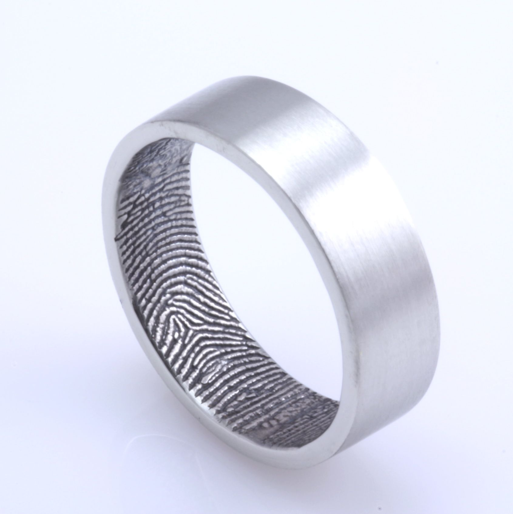 band qalltzm spin traditional photo kehrnal on ring bands wedding rings trend puts personal fingerprint