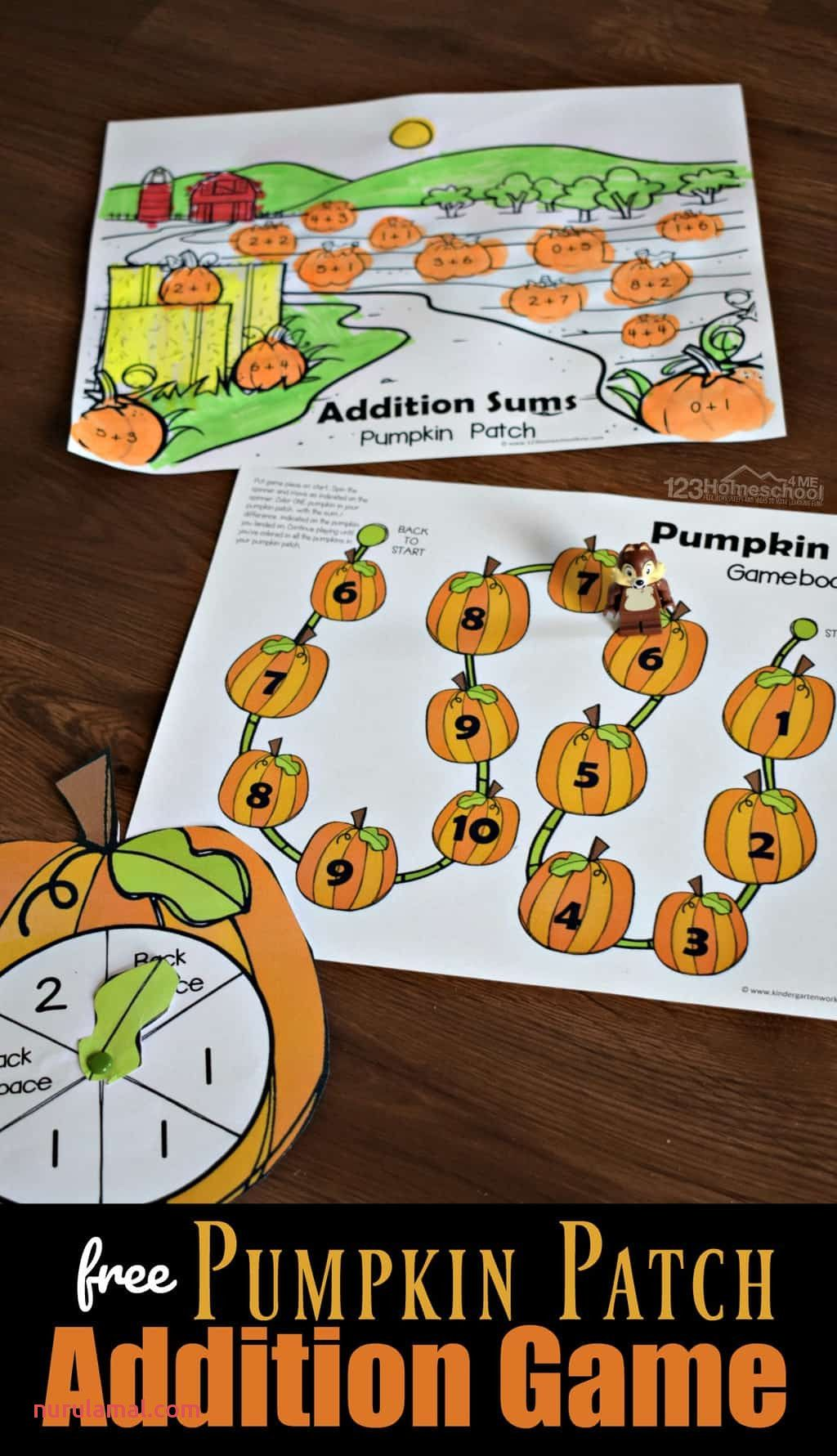 Free Pumpkin Patch Addition Game In