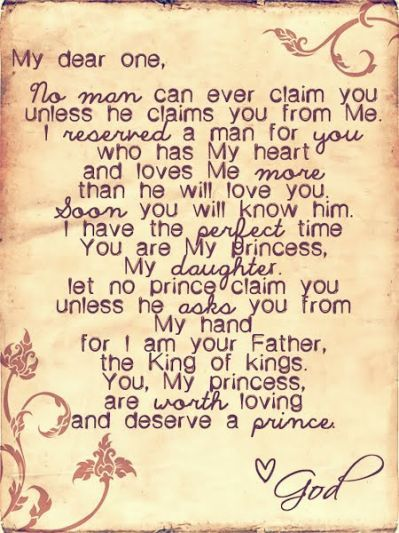 Letter From Daddy God To His Oh If Only I Couldve Gotten My