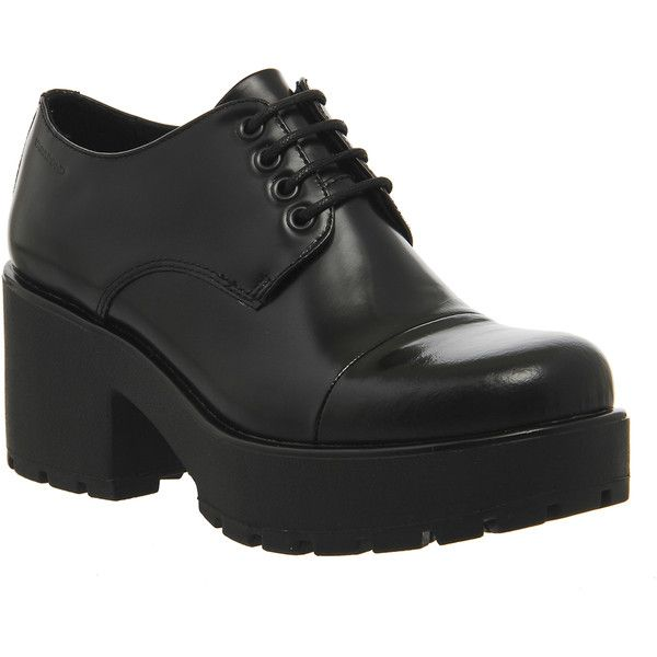 Vagabond Dioon Shoes (465 BRL) ❤ liked on Polyvore featuring shoes, black  box · Mid Heel ...
