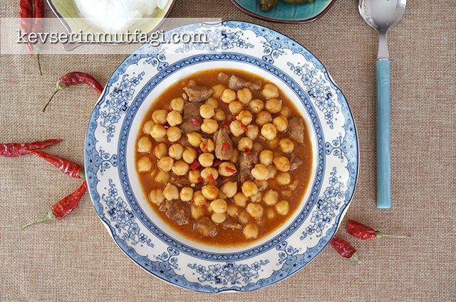 Chickpea Beef Stew Recipe