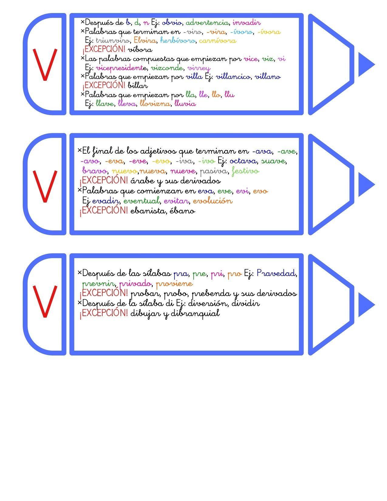 Manipulativos Los Lápices Ortográficos Orientacion Andujar Cuaderno De Gramática Ortografía Lectura Y Escritura