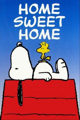 Snoopy Woodstock Home Sweet Home Garden Flag Http Www Amazon Com Dp B00c5qrmlm Ref Cm Sw R Pi Dp S Betb0fpqz8g8 Snoopy Snoopy And Woodstock Vintage Flag