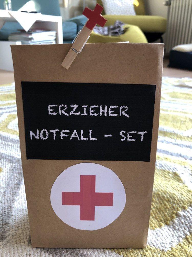 Geschentüte Erzieher Notfall Set #lustigegeschenke