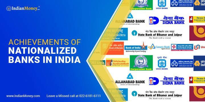 Achievements of Nationalized Banks in India  #BankAccount #FixedDeposit #BankingSystem