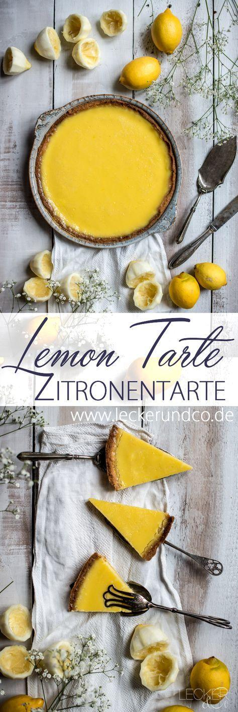 Lemon Tarte | Zitronentarte | LECKER&Co | Foodblog aus Nürnberg #homemadefrosting