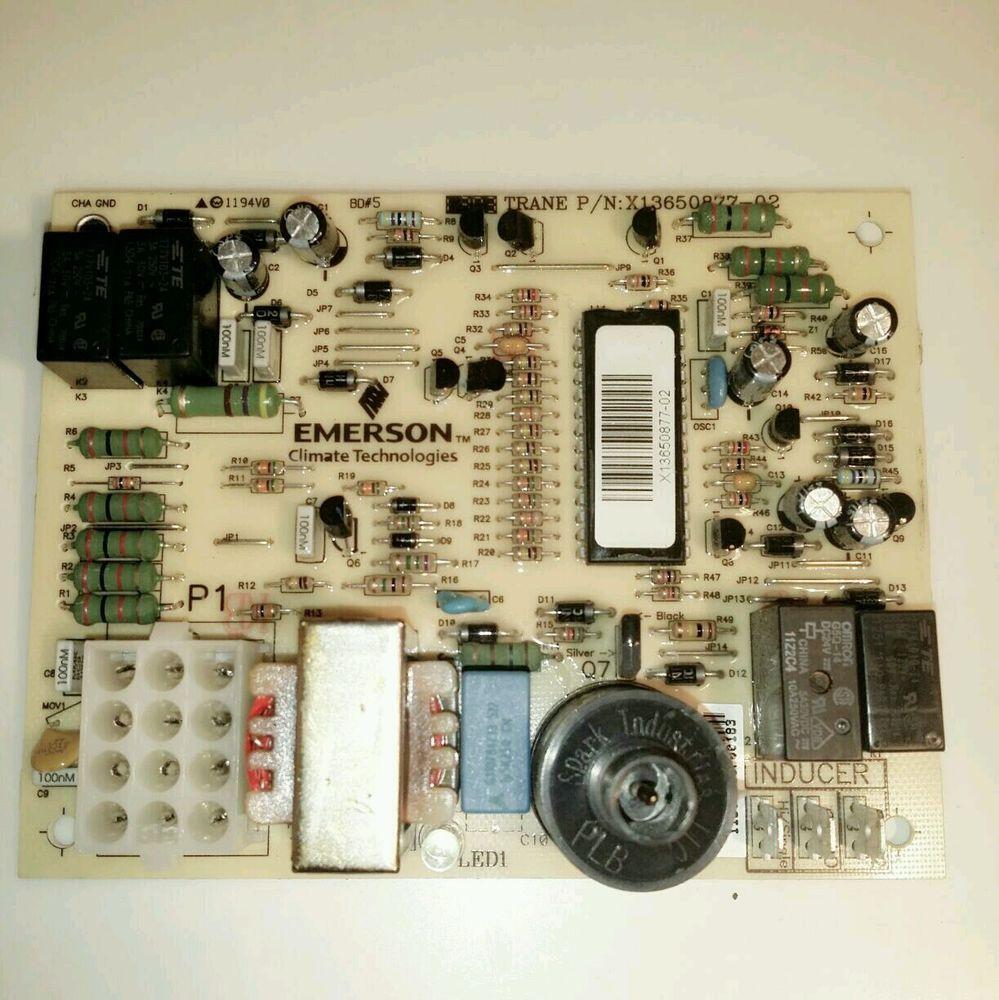 Emerson Climate Technologies Trane Control Module Circuit
