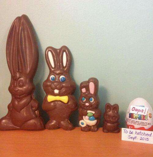 So cute ! easter pregnancy announcement --- http://tipsalud.com -----