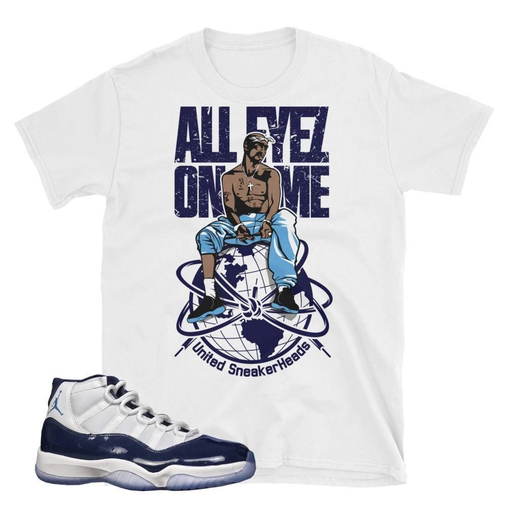 4ef6e9d05ec Midnight Navy 11 Tee, Unc Retro 11 Shirt | Sneaker Tees | Shirts ...