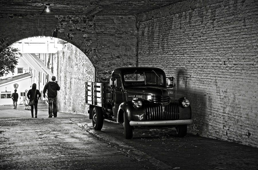 1940 Chevrolet Pickup Truck In Alcatraz Prison. By RicardMN Photography