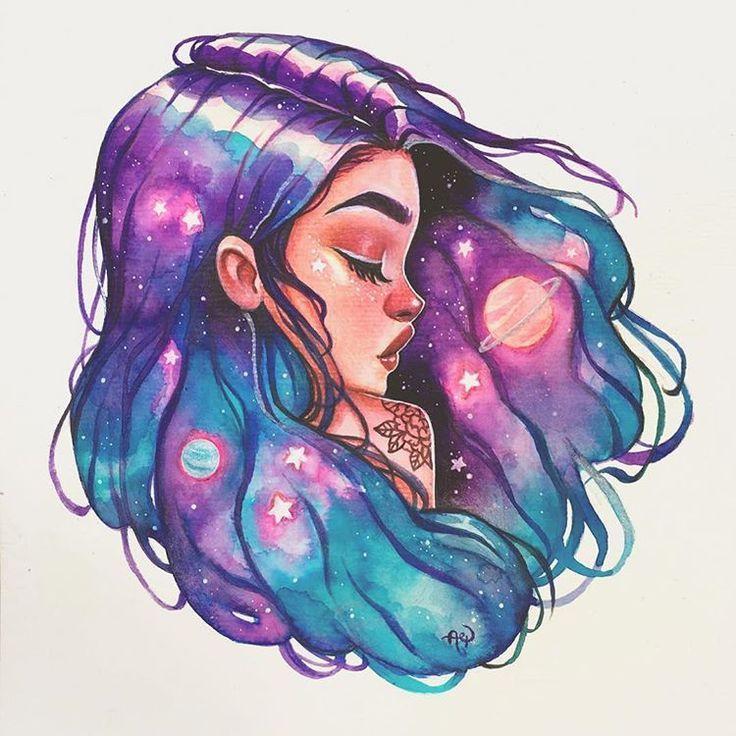 Photo of ✨Universe✨ . . #galaxy #galaxyhair #sereia #girlsartistgang #gagmaio –  #