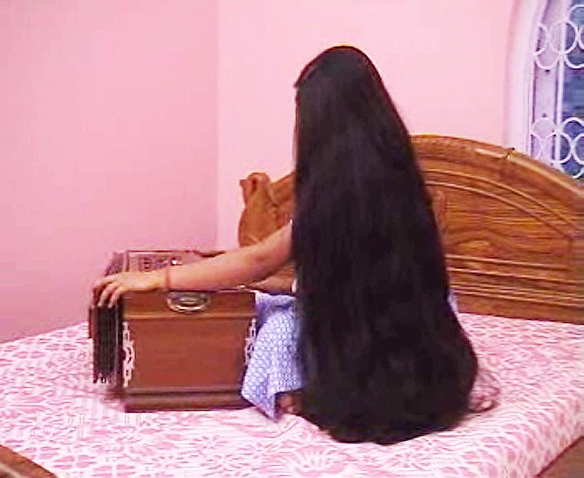 P Very Long Hair Styling Video Part2 Long Hair Styles Long Black Hair Hair Styles