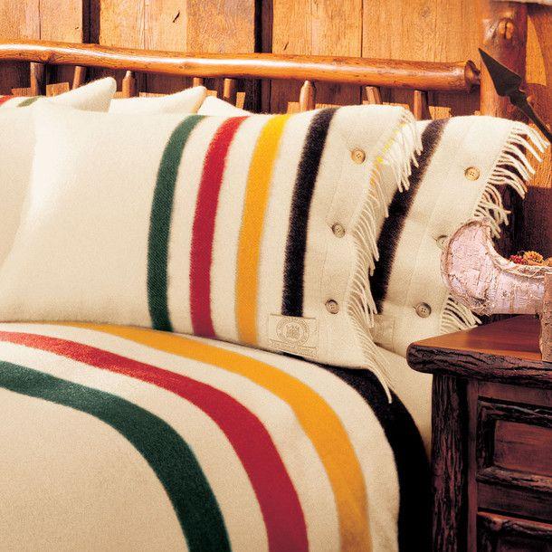 Hudson S Bay Pillow Shams Pair Hudson Bay Blanket Point Blanket Pillows